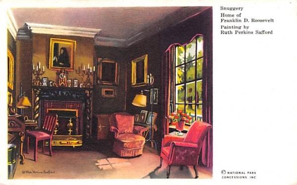 Snuggery Hyde Park, New York Postcard