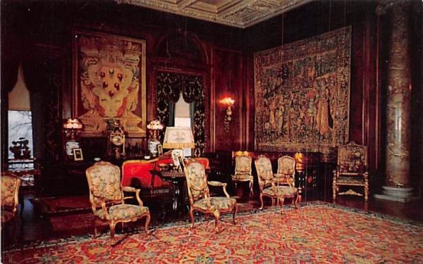 Drawing Room Hyde Park, New York Postcard