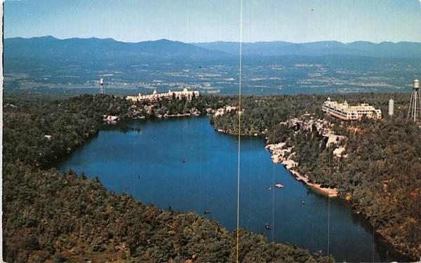Lake Minnewaska Hyde Park, New York Postcard