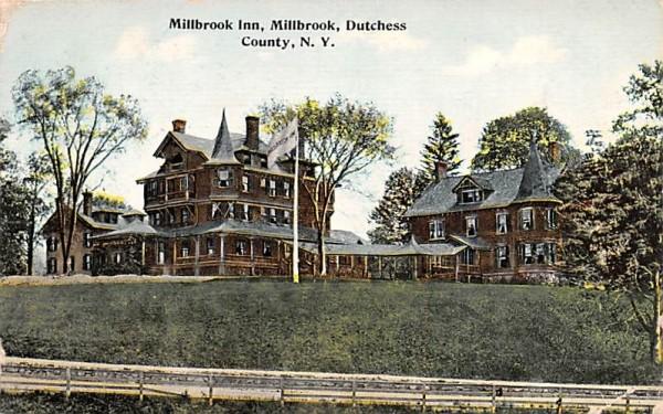 Millbrook Inn Hyde Park, New York Postcard