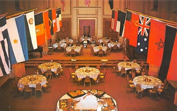 Culinary Institute of America Hyde Park, New York Postcard