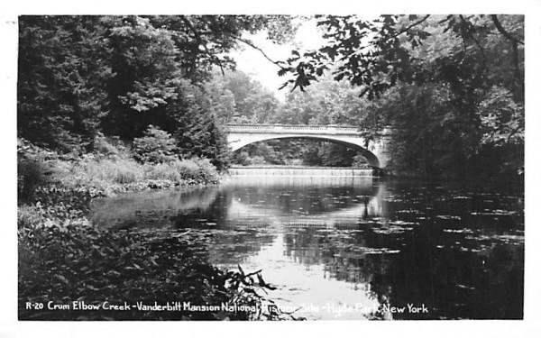 Crum Elbow Creek Hyde Park, New York Postcard