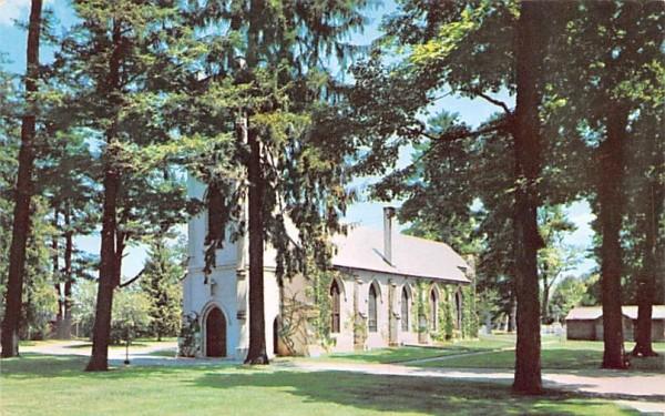 Saint James Episcopal Church Hyde Park, New York Postcard