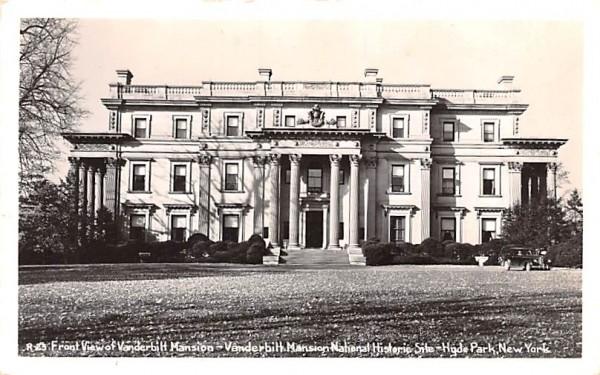 Vanderbilt Mansion National Historic Site Hyde Park, New York Postcard