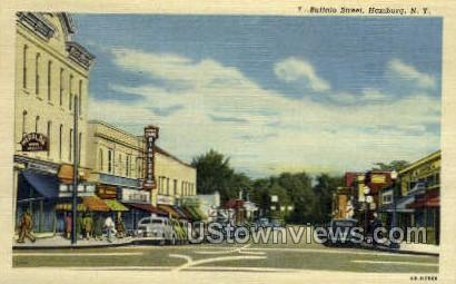 Buffalo Street - Hamburg, New York NY Postcard
