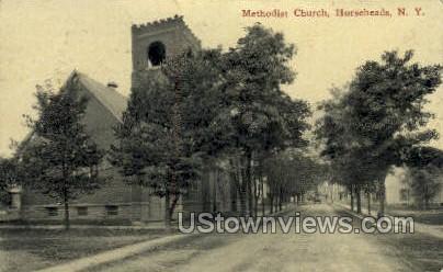 M.E. Church - Horseheads, New York NY Postcard