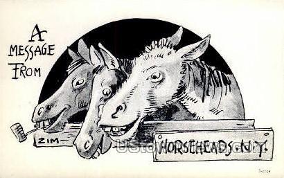 Horseheads, New York, NY Postcard