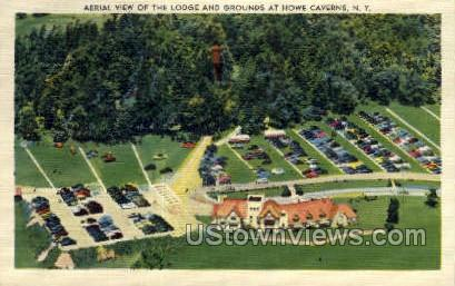 The Lodge - Howe Caverns, New York NY Postcard