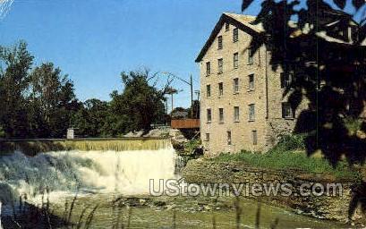 The Mill Restaurant & Lounge - Honeoye Falls, New York NY Postcard