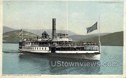 Str. Sagamore - Lake George, New York NY Postcard