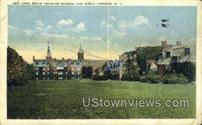NY State Training School for Girls - Hudson, New York NY Postcard