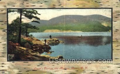 Corw's Nest - Hudson RIver, New York NY Postcard