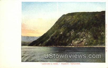 Anthony's Nose - Hudson, New York NY Postcard