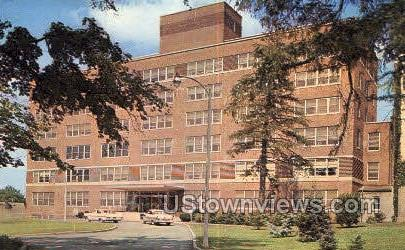 Columbia Memorial Hospital - Hudson, New York NY Postcard