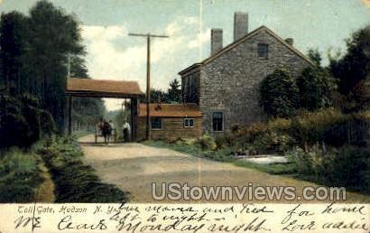 Toll Gate - Hudson, New York NY Postcard