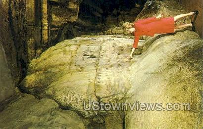 The Pipe Organ - Howe Caverns, New York NY Postcard
