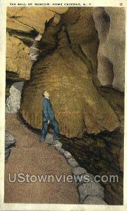 The Bell of Moscow - Howe Caverns, New York NY Postcard