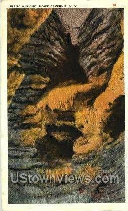Pluto's Nitch - Howe Caverns, New York NY Postcard