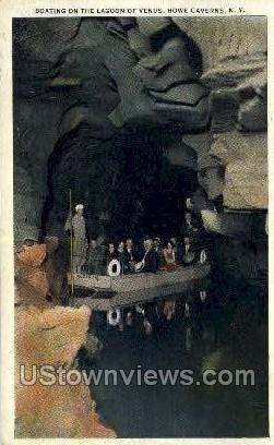 Lagoon of Venus - Howe Caverns, New York NY Postcard