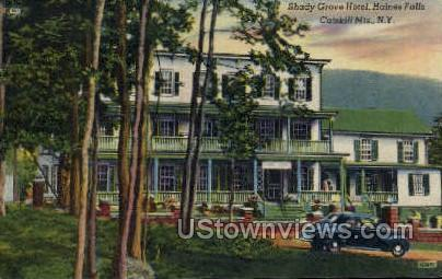 Shady Grove Hotel - Haines Falls, New York NY Postcard