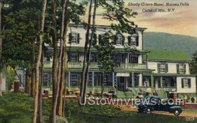 Shady Grove Hotel - Haines Falls, New York NY Postcard
