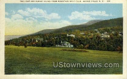 Golf Club - Haines Falls, New York NY Postcard
