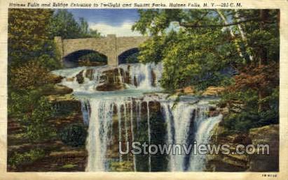 Sunset Parks - Haines Falls, New York NY Postcard