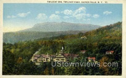 Twilight Inn - Haines Falls, New York NY Postcard