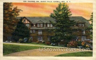 Squirrel Inn - Haines Falls, New York NY Postcard