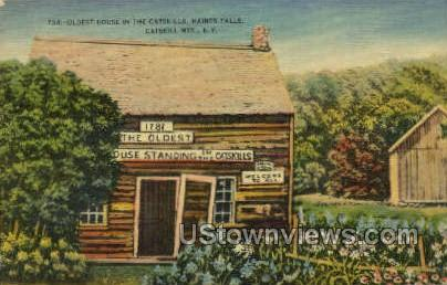 Oldest House - Haines Falls, New York NY Postcard