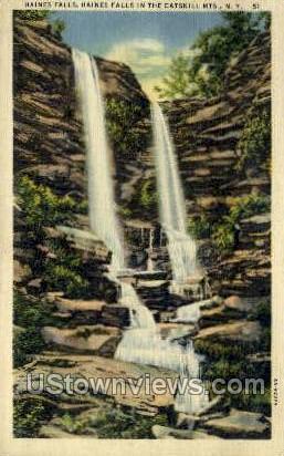 Catskills - Haines Falls, New York NY Postcard