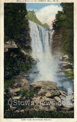 RIP Van Winkle Trail - Haines Falls, New York NY Postcard