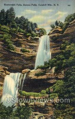 Kaaterskill Clove - Haines Falls, New York NY Postcard