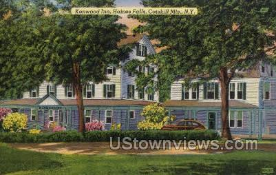 Kenwood Inn - Haines Falls, New York NY Postcard