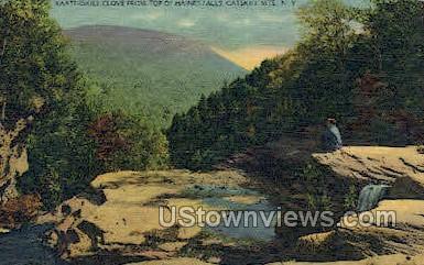 Kaaterskill Clove - Haines Falls, New York NY Postcard