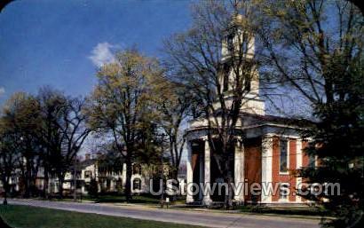 Baptist Church - Hamilton, New York NY Postcard