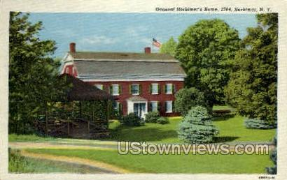 General Herkimer's Home - New York NY Postcard