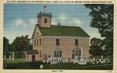 Mohawk Valley - Herkimer, New York NY Postcard