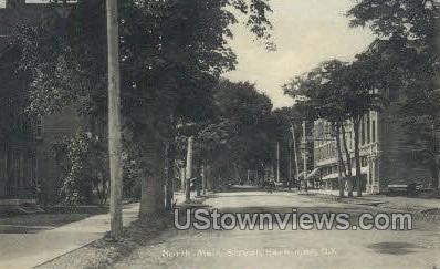North Main Street - Herkimer, New York NY Postcard
