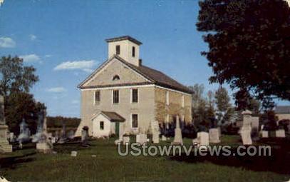 Fort Herkimer Church - New York NY Postcard