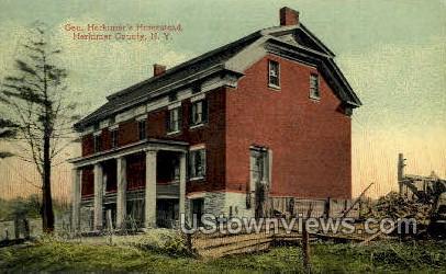 Gen. Herkimer's Homestead - New York NY Postcard