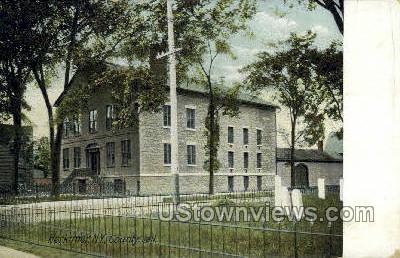 County Jail - Herkimer, New York NY Postcard