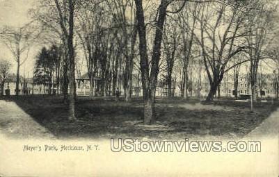 Meyer's Park - Herkimer, New York NY Postcard