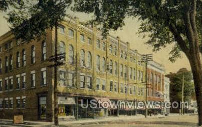 Earl Block - Herkimer, New York NY Postcard