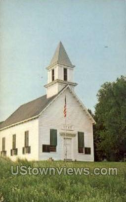 Indian Castle Church - Herkimer, New York NY Postcard