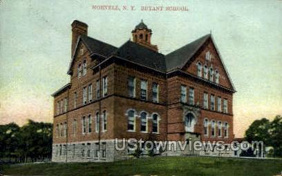 Bryant School - Hornell, New York NY Postcard