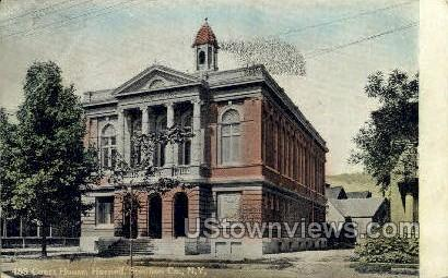 Court House - Hornell, New York NY Postcard