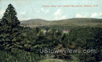 Hudson River - New York NY Postcard