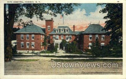 City Hospital - Hudson, New York NY Postcard