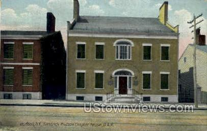 Hendrick Hudson Chapter House - New York NY Postcard